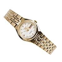 SEIKO Women's Automatic Watch, Analog Display and Stainless Steel Strap SYMK46J1
