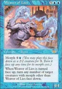 Magic: the Gathering - Weaver of Lies - Legions - Foil by Wizards of the Coast