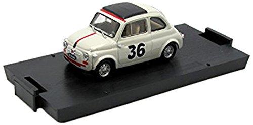 Modellino Auto Fiat Nuova 500 Vallelunga 1965 Ignazio Giunti #36 Scala 1:43 2010 R476