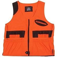 Chaleco de caza alta visibilidad naranja