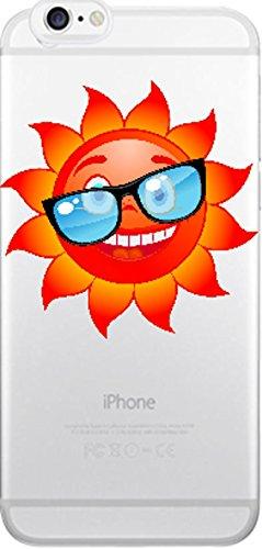 blitzversand Handyhülle Tiere FABELN Mystic kompatibel für Huawei P8 Lite Coole Sonne Schutz Hülle Case Bumper transparent M15