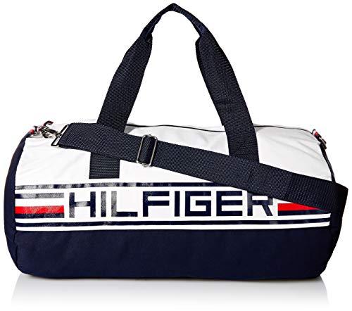 Tommy Hilfiger 6946952 - Bolsa de viaje de Lona Hombre Multicolor multicolor