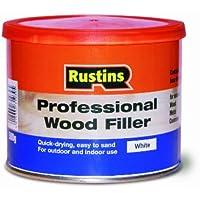 Rustins WOPW500-Stucco per legno, professionale, 500 g, colore: bianco