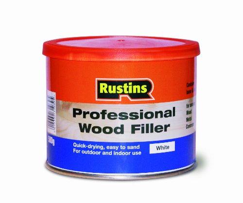 rustins-wopw500-stucco-per-legno-professionale-500-g-colore-bianco