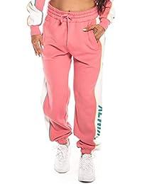 Grimey PANTALÓN Hazy Sun Sweatpant FW18 Pink
