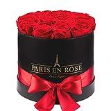 PARIS EN ROSE Palais-Royal Rosenbox, schwarz-Rot, S