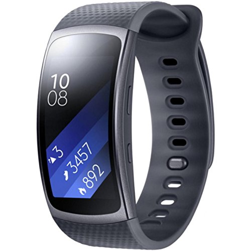 Samsung Gear Fit2 Smart Watch (Large) – Black