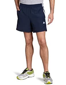 adidas Essentials 3-Stripes Men's Chelsea Shorts, Blue Collegiate Navy/White, Small