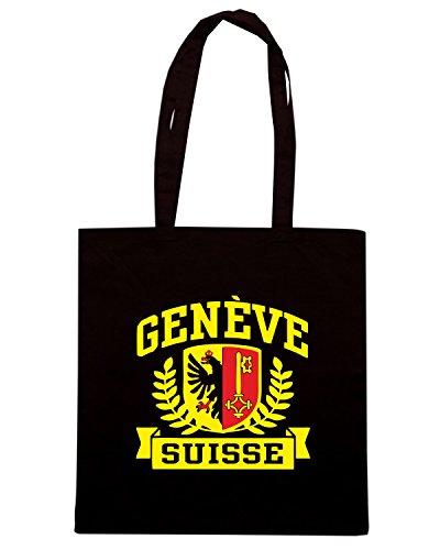 T-Shirtshock - Borsa Shopping TSTEM0169 geneve suisse Nero