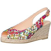 Desigual Femme Designer Peeptoe Chaussures - Lili - Nouvelle Collection -40 43deXyK
