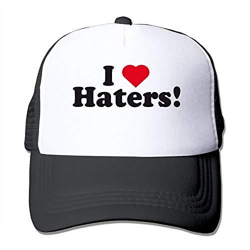 Bgejkos Wubgg Love Haters a personnalisé la Casquette de Baseball de Chapeaux de Camionneur de Mode de Chapeaux de Casquette de Baseball pour Le Grand 01Y505