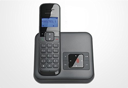 Telekom Sinus CA 34 - schnurloses Telefon mit Anrufbeantworter (Standard/Analog, AB, Full Eco Mode, 50 Telefonbucheinträge) -
