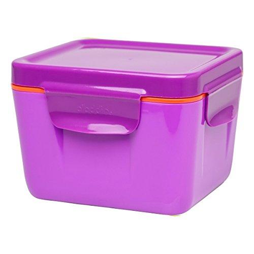 Aladdin 0,7 Litre 33392 Boîte Repas Isotherme, boîte de Rangement, en Plastique, Baie