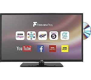 JVC Smart TV 32 inch LED TV DVD Combi