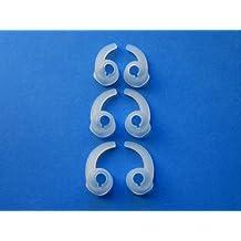 6 Pezzi: 3 Paia S / M / L (Sinistro e Destro Lato) Orecchio Stabilizzatori Aiutanti Cuscinetti di Ricambio per Intra-Auricolari / Cuffie