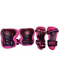 KRF The New Urban Concept Junior Set de Protecciones, Mujer, Rosa, s