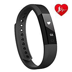 Lintelek Id115hr Smart Bracelet Black