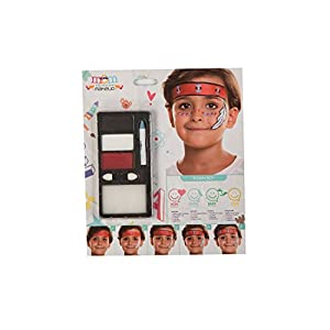 My Other Me Me-207080 Kit Maquillaje Infantil Indio, Talla única (Viving Costumes 207080)