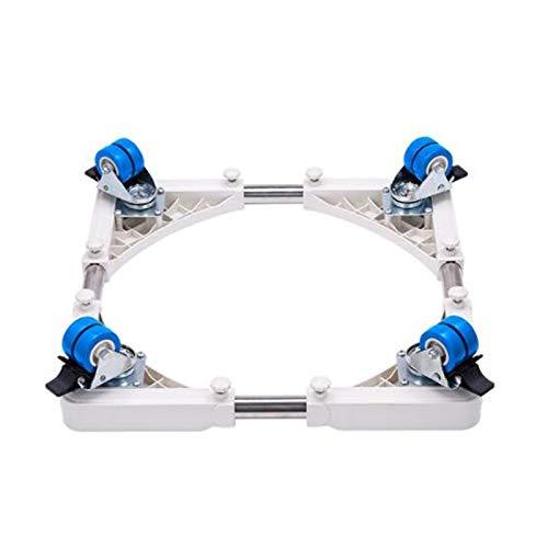 Yxsd Drum Waschmaschine Base Pad High Untergestell Regal mit 4x2 Universalräder, abschließbar abnehmbare Universalhalterung Kühlschrank Halterung