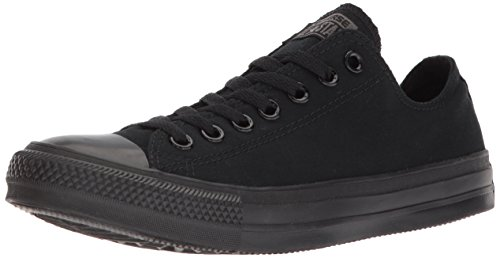 Converse Converse Sneakers Chuck Taylor All Star M5039, Unisex-Erwachsene Sneakers, Schwarz (Black Mono), 42 EU (8.5 Erwachsene UK) (Chuck Taylor Schwarz Converse)