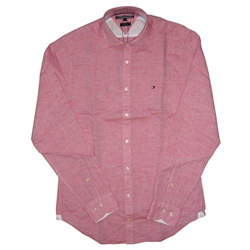 Tommy Hilfiger pour Homme - Bram Stripe Pink - Slim Fit