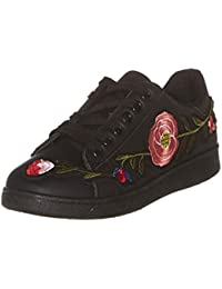 Baskets Fleurs Noir WS