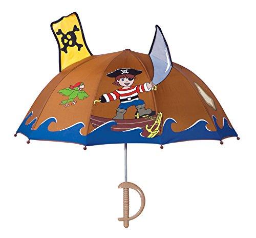 Kidorable Paraguas Pirata marrón única