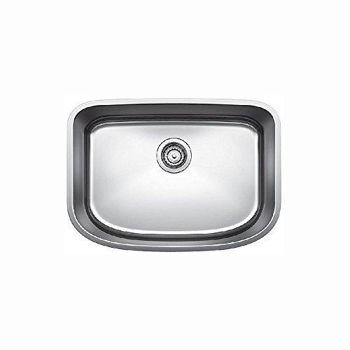 Bowl Undermount Kitchen (Blanco 441587 One Undermount Single Bowl Kitchen Sink, Medium, Stainless Steel by Blanco)