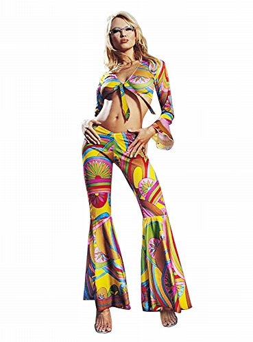 g Sixties Hippie Kostüm - Gr. M/L - 8649 ()