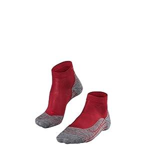 FALKE Damen RU4 Short Laufsocken – Baumwollmischung, 1 Paar, Versch. Farben, Größe 35-42 – Mit mittelstarker Polsterung, feuchtigkeitsregulierend, schnellste Rücktrocknung, dämpfende Wirkung