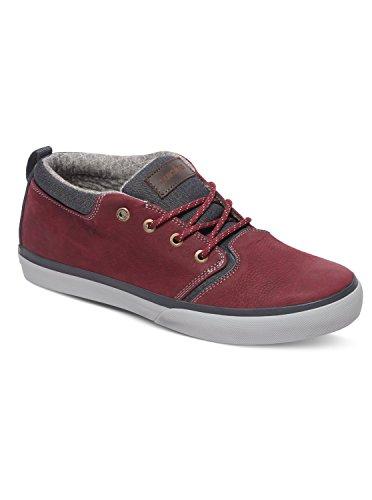 Quiksilver Griffin - Chaussures mi-Hautes pour garçon AQBS100007 Rouge - Red/Grey/Grey