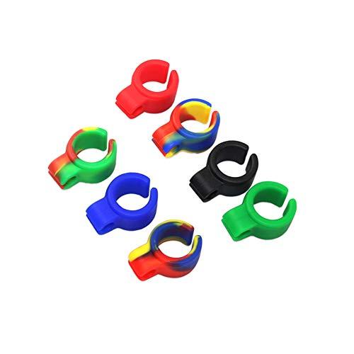Romote Zigarettenhalter Ring, Adaptable Rauchen Ring Hände frei halten für Konsolenspieler Guitar Players und Treiber (8 PACK)