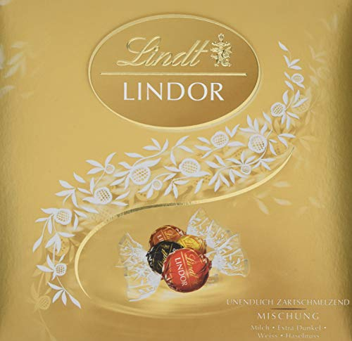 Lindt & Sprüngli Lindor Präsent Mischung, 1er Pack (1 x 187 g)