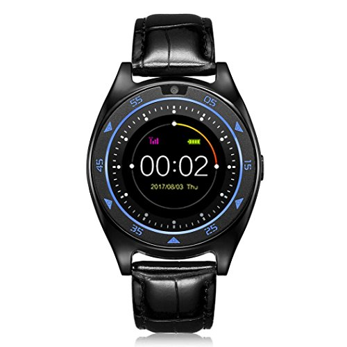 TQ920 Bluetooth Smart Watch, wasserdichte Sport/Business Armbanduhr für iPhone Android Smartphone für Herzfrequenz/Blut Druck/OXYGEN Monitor Slot