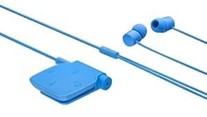 Nokia BH111BLEU Kit oreillette stéréo Bluetooth avec chargeur Bleu