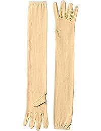 Men's Full Hand Summer Gloves For Protection From Sun Burn/Heat/Pollution (Skin Colour)