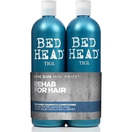 Tigi Bed Head Urban Antidotes Recovery Tween 750 ml Shampoo & Conditioner with FREE PUMPS