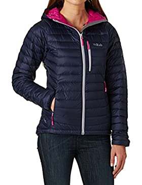 RAB WOMENS MICROLIGHT ALPINE JACKET TWILIGHT (SIZE UK 8)