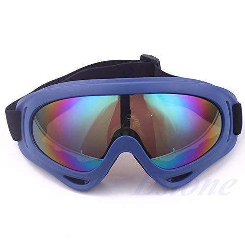 83d942780e Gafas de sol a prueba de polvo de la nieve gafas de esquí de la motocicleta