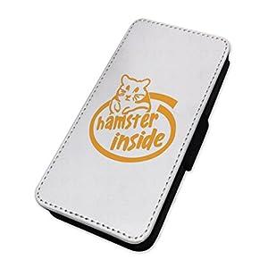 Funny Hamster Innen–Flip Case Wallet Cover