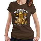 Premium Coffee Vintage Machine Women's T-Shirt