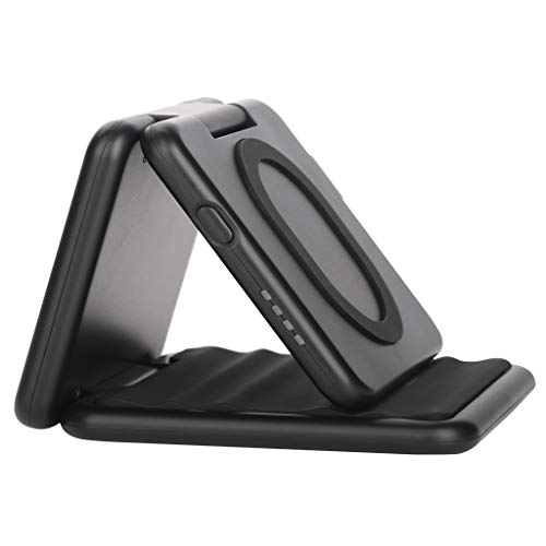Fast Wireless Charger, 12shage 10W Qi Ladegerät für iPhone X/ 8/8 Plus, Kabelloses Induktive Ladestation Schnellladestation für Samsung Galaxy Samsung Portable Receiver