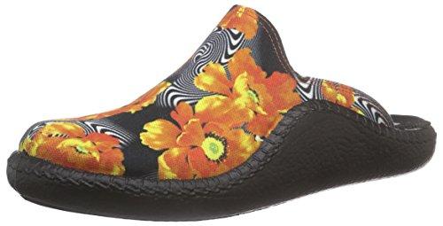 Romika Damen Mokasso 119 Pantoffeln Orange (orange 807)