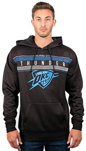UNK NBA Herren Fleece Hoodie Pullover Pullover Poly Midtown, Herren, Fleece Hoodie Pullover Sweatshirt Poly Midtown, schwarz, XX-Large -