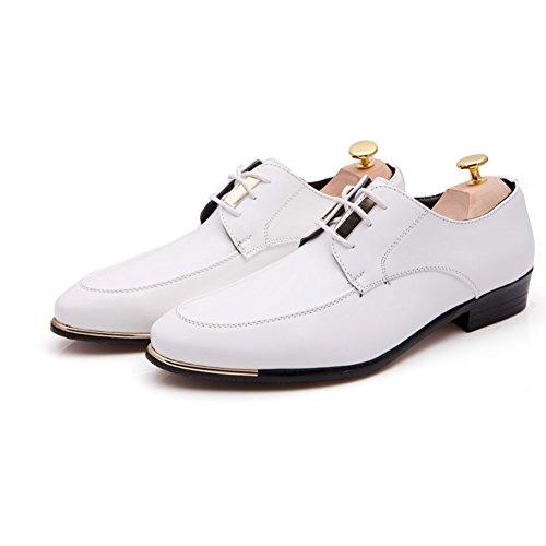Selvaggi di estate moda scarpe/Tempo libero Joker puntato Calzatura uomo Bianco