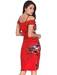 929de9d66c Amazon.es  medio - Rojo   Vestidos   Mujer  Ropa
