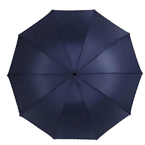Shuang Yu Zuo Augmenter Renforcement Double Double Pluie Ou Le Soleil Parapluie,Bronze