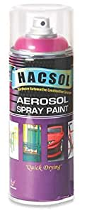 Hacsol Car and Bike Paint Spray (400ml,vermillion)