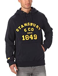 Stansbury & Co Granit - Sweat-shirt à Capuche Sport - À Logo - Molleton - Homme