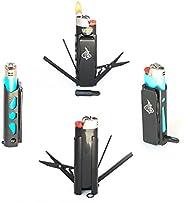LighterBro PRO - Lighter Sleeve - Multi-tool - Stainless Steel